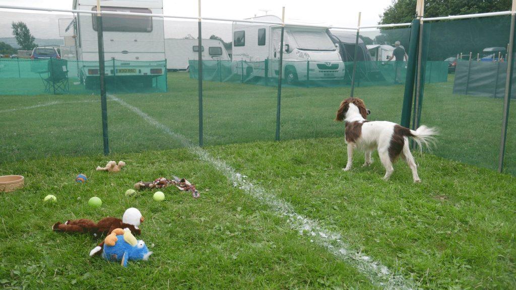 Pet Enclosures for Caravans - Cornish Windbreaks