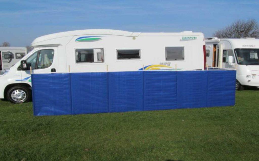 Windbreaks for motorhomes and caravans - Cornish Windbreaks